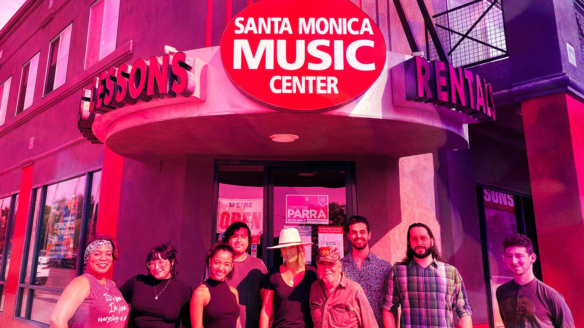 santa monica music center culver city creative center instrument music audio studio video rental rent local